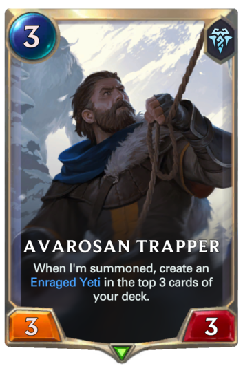 Avarosan Trapper Card