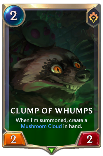 Clump of Whumps Card
