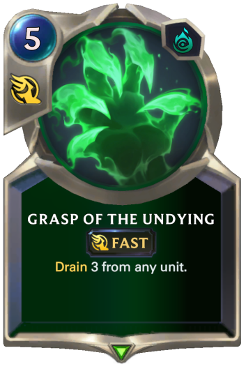 Grasp of the Undying