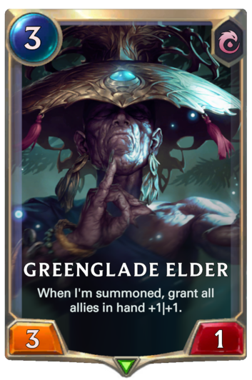 Greenglade Elder Card