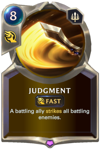 Judgment Card
