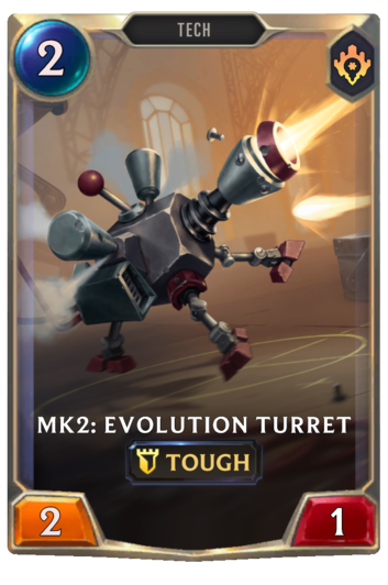 Mk2: Evolution Turret Card