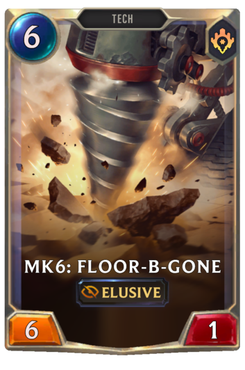 Mk3: Floor-B-Gone Card