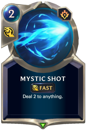 Mystic Shot Card