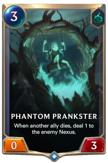 Phantom Prankster Card