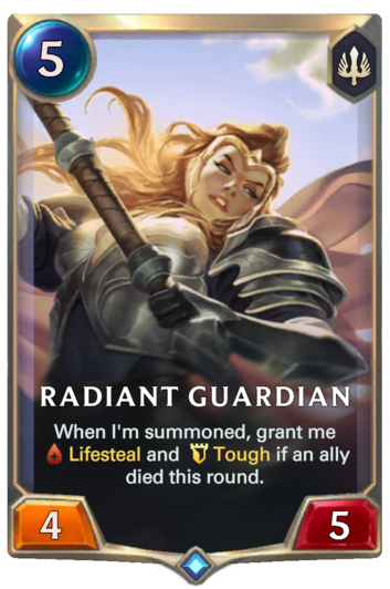 Radiant Guardian Card
