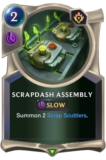 Scrapdash Assembly Card