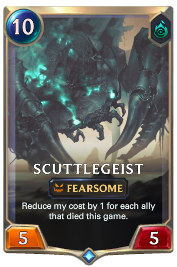 Scuttlegeist Card