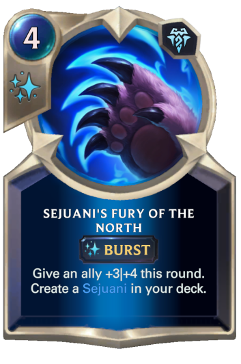 Sejuani's Fury of the North Card
